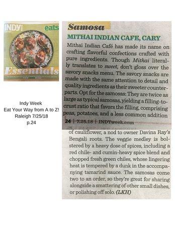 Mithai House of Indian Desert: A testimony to our samosas