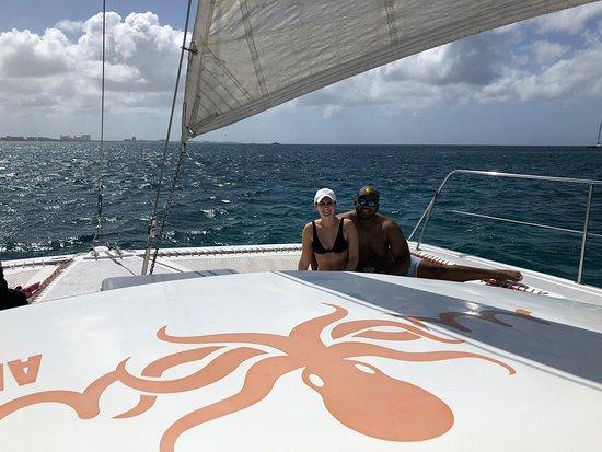 Octopus Aruba Sailing Snorkeling Fun Catamaran