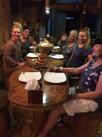 Our eclectic mix of South African, Australian and Sri Lankan travellers bonding over an impromptu Traditional Sri Lankan 'Hopper Feed.'