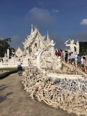 Wat Rong Khun entrance way