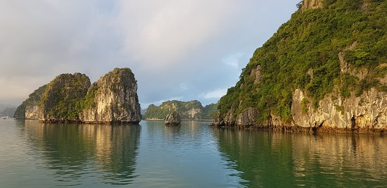 Ha long bay view from the boat