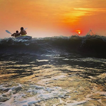 Alappuzha Beach: Kayak at sunset and watch the dolphins, all at Neela Waters!