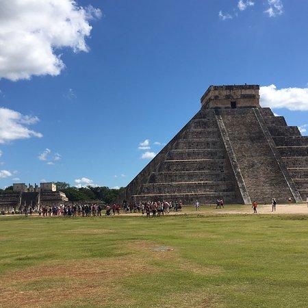 Hermosas ruinas mayas Chichén Itzá