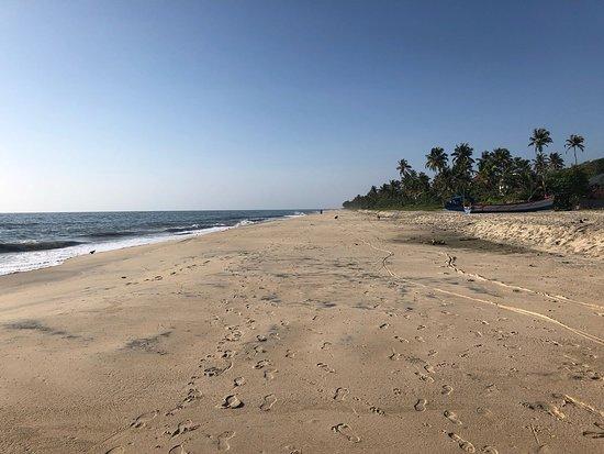 Alappuzha Beach: Alleppey beach is perfect for a long walk...