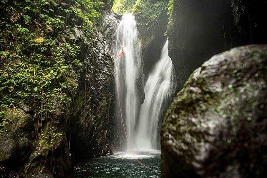 Découverte du canyoning à Bali...