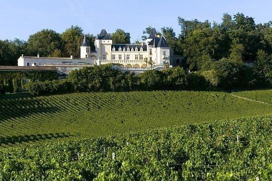 ボルドー・ワインツアー : 3カ所のワイン地方、シャトーワインの試飲、ランチ
