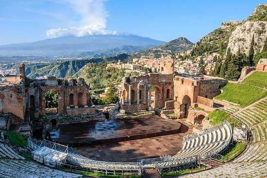 Taormina Walking Tour med grekiska ...