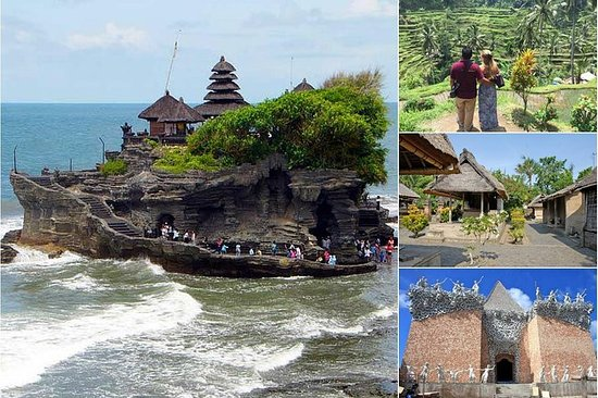 Private Full-Day Tour: Ubud Tanah Lot...