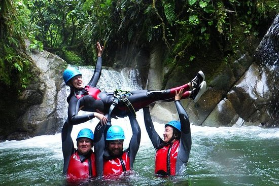 Canyoning in Casahurco from Baños