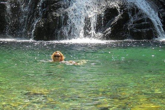 Serra de Arga vattenfall och Lagoons ...
