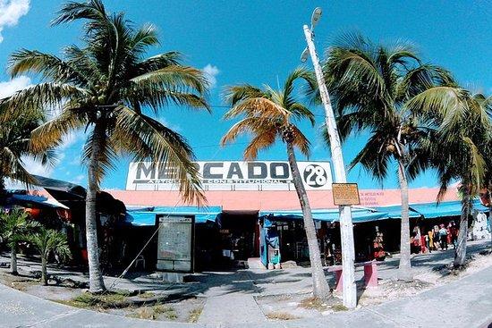 Excursão de compras em Cancun saindo...