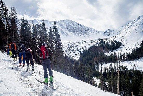 8 timers skitour tur i Tatra...