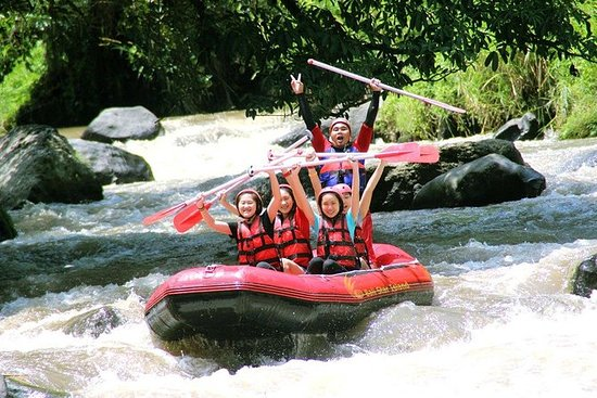 Pacotes para Rafting e Spa em Ayung