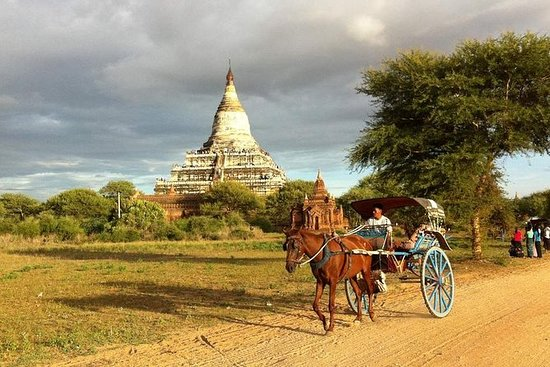 Bagan Horse Cart Ride Tour con...