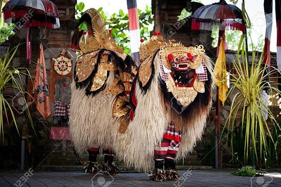 Danse traditionnelle de Bali, cascade...