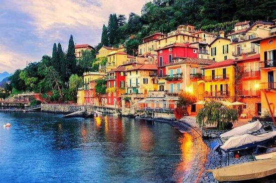 Vistas do Lago Como: Viagem de um dia...