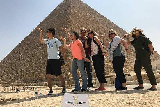 プライベートツアー:ギザピラミッド、スフィンクス、メンフィス、サッカラ、ラク…