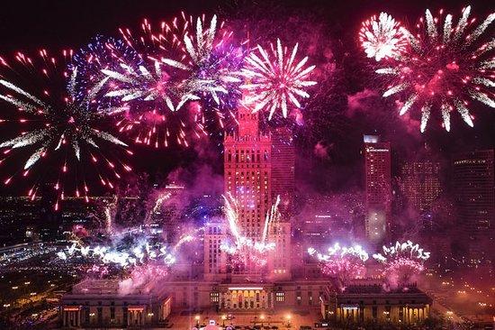 Silvester im höchsten Gebäude Polens!