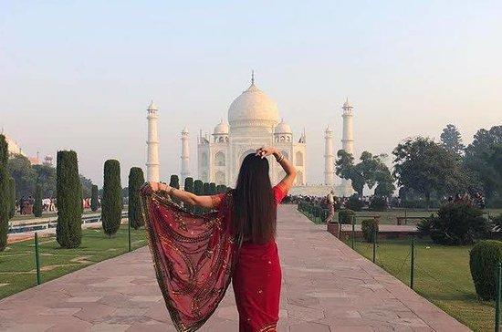 Excursão no mesmo dia de Taj Mahal e...