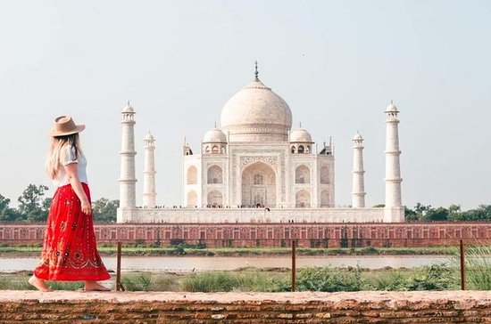 Taj Mahal Philanthropic Day Tour From...