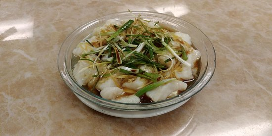 Steamed Sole Fillet with Ginger and Green Onion