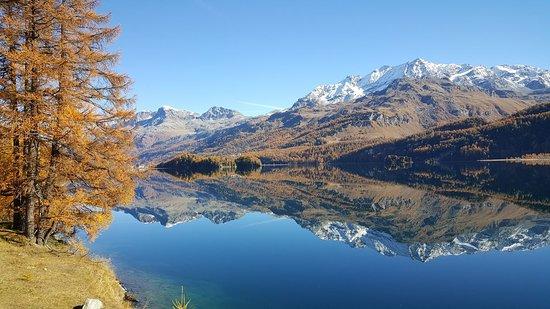 Engadin St. Moritz, İsviçre: Fantastica Engadina tra il Passo del Maloja e Saint Moritz - Ottobre 2016