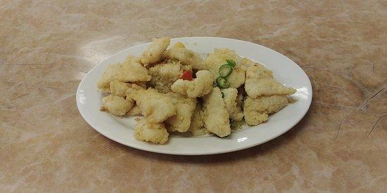 Kam Ding Seafood Restaurant: Deep Fried Sole Fillet with Pepper Salt