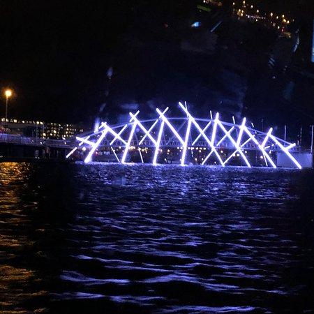 Fantastic art work with lights