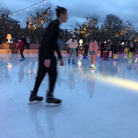 Winter Ice rink is a fabulous attraction