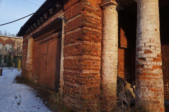 Усадьба Собакиных: Угол конного двора