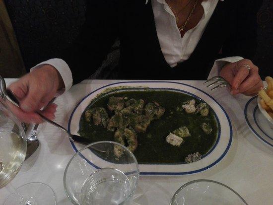 Heerlijke paling in 't groen