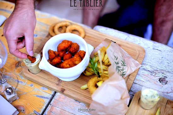 Le Tablier Reims 30 Place Drouet D Erlon Restaurant Avis