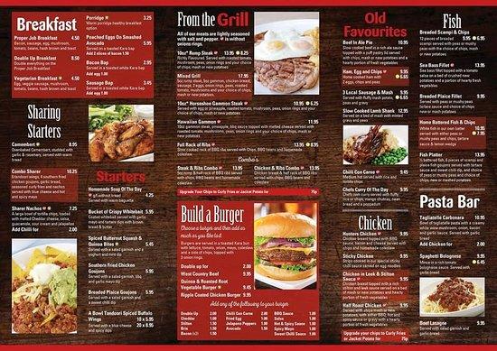 Farmers Union Lodge: New menu