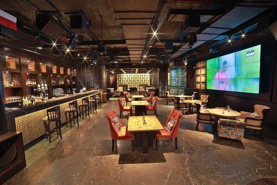 Ark Bar: Interiors with Bar