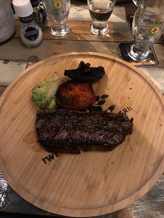 Twentse Bierbrouwerij: Steak