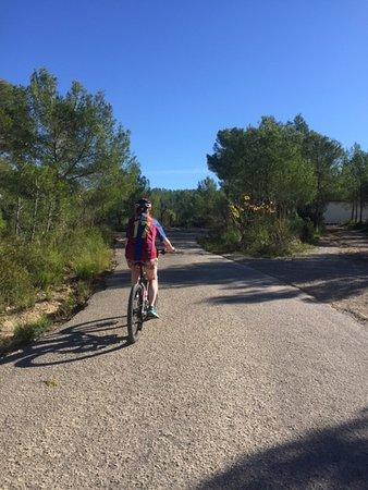 Bikes Sitges: Somewhere between Almiral De La Font and Olivella