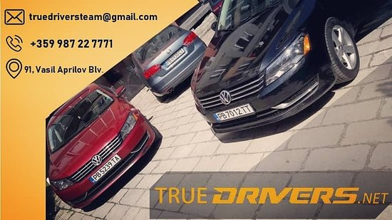 ‪‪Plovdiv‬, بلغاريا: True Drivers! Trust us to take you where you need to be. ‬