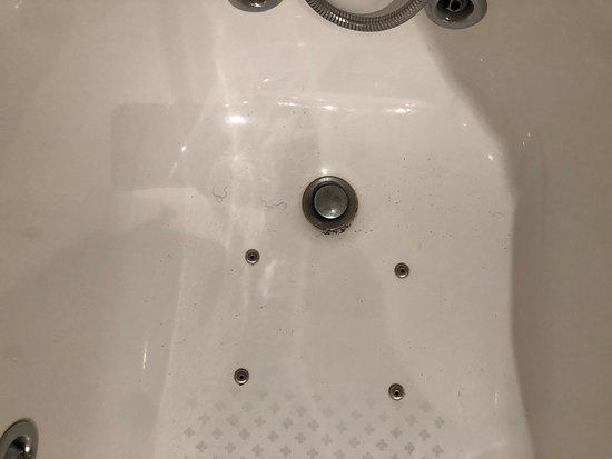 Pelos en bañera