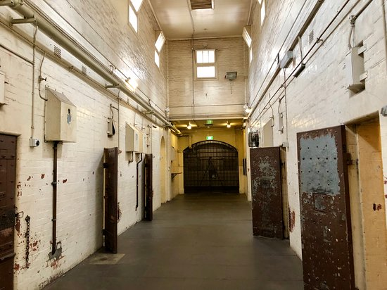 The cells for the male prisoners