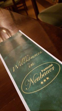 Restaurant Parkhotel Neubauer: Impression