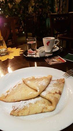Restaurant Parkhotel Neubauer: leckerer Nachtisch
