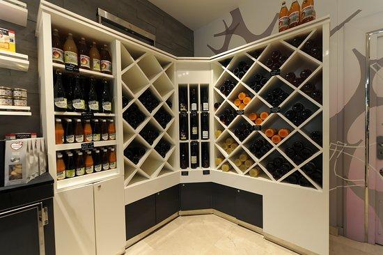 Les boissons : vins, bières, jus de fruits, cidre limonade
