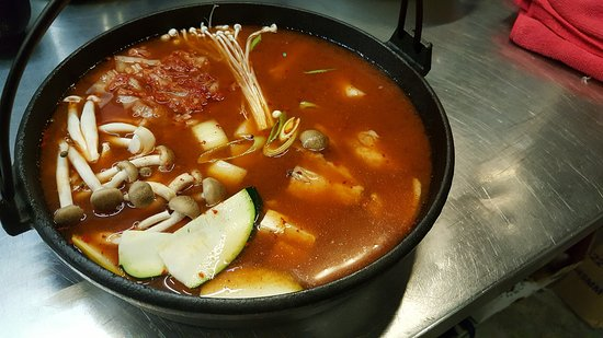 Misokimchi Tanah Rata: Korean Army Pot ~~yummy!!