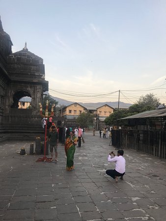 Trimbakeshwar Shiva Temple: Temple view from inside -5