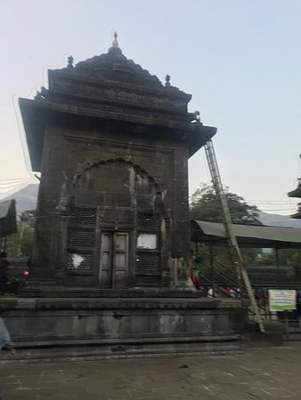 Trimbakeshwar Shiva Temple: Temple view from inside -7