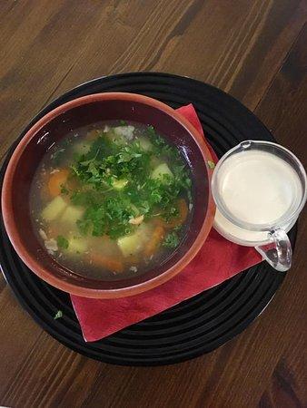Hullu Jaani Grill: Its a ... soup