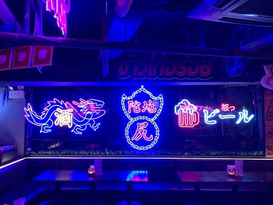 Wonderful neon light design