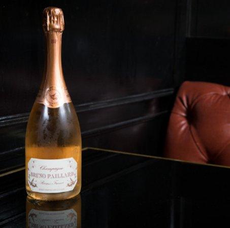 Champagne Bruno Paillard! Taste best champagne in our Bistrot!