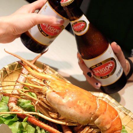 大頭蝦好味呀