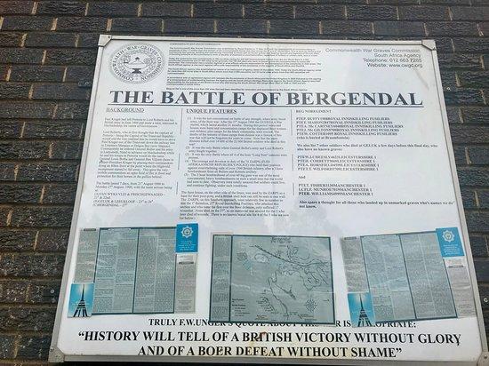 The Berg-en-Dal Monument: The Battle of Bergendal
